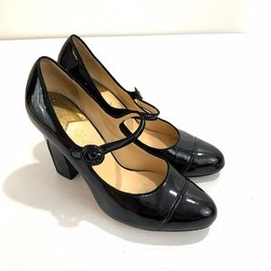 Cole Haan Nike Air Black Pantent Leather Pumps